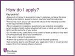 how do i apply14