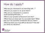 how do i apply15