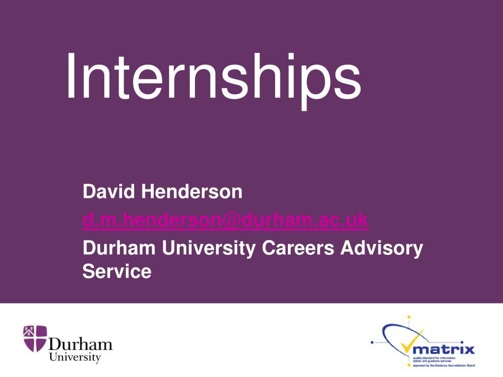 internships l.