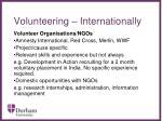 volunteering internationally34