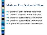 medicare plan options in illinois
