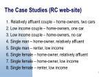 the case studies rc web site