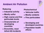 ambient air pollution