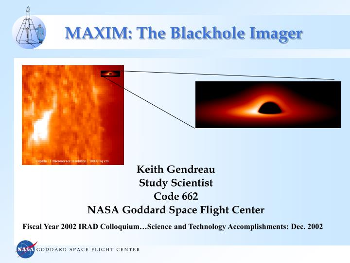 maxim the blackhole imager n.