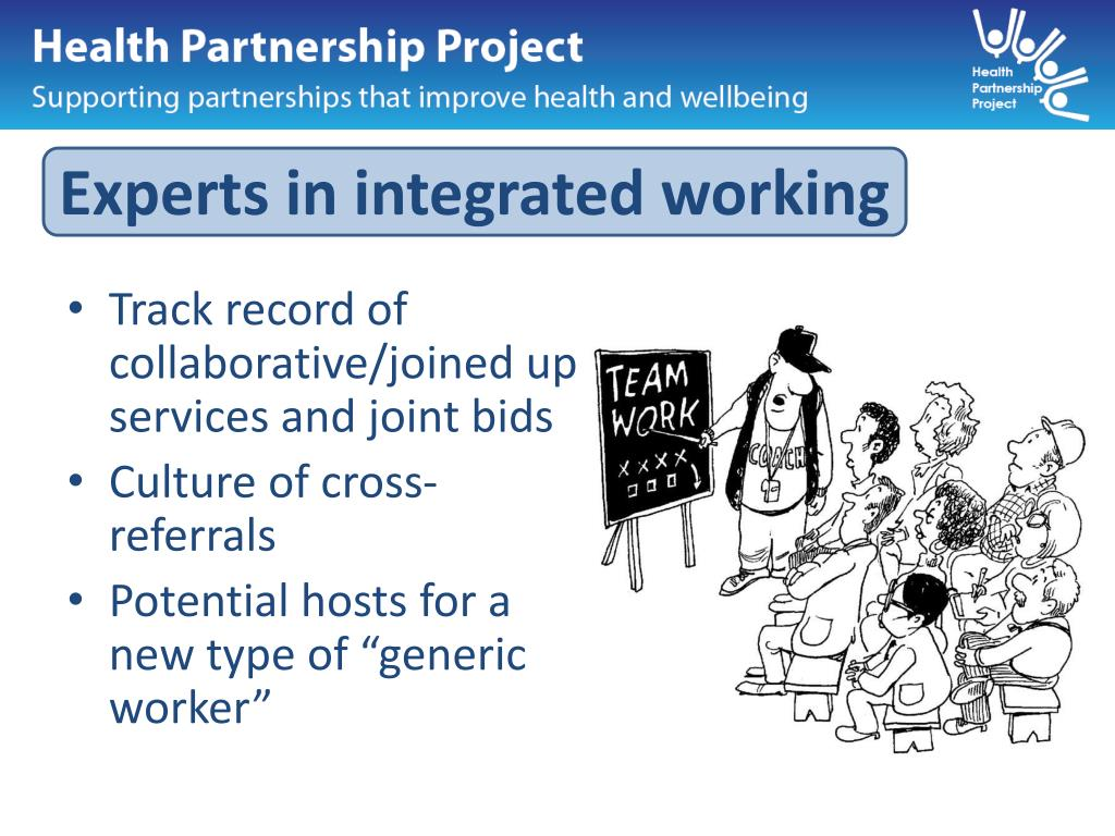 Experts in integrated working