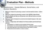 evaluation plan methods27