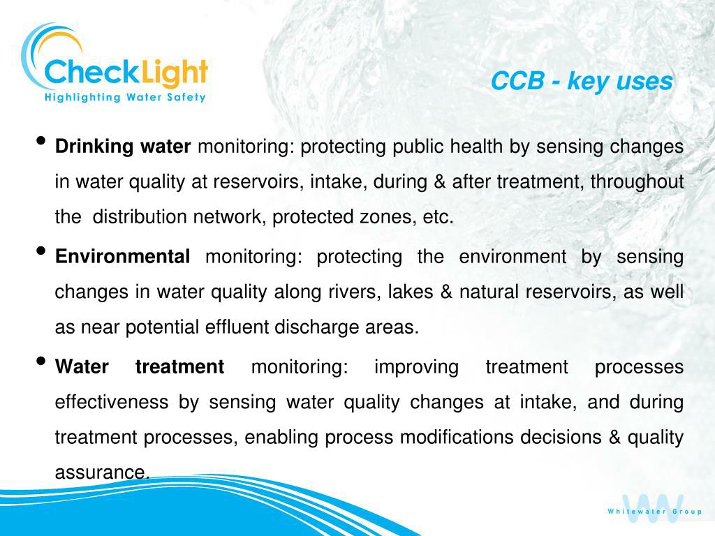 CCB - key uses