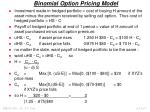 binomial option pricing model1