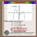 derivative graphs of position equation13