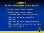 module 5 public health response guide48