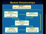 module relationships
