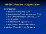 rptb overview organization