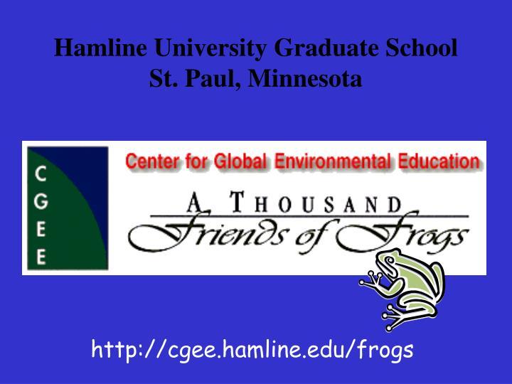 Hamline university graduate school st paul minnesota2