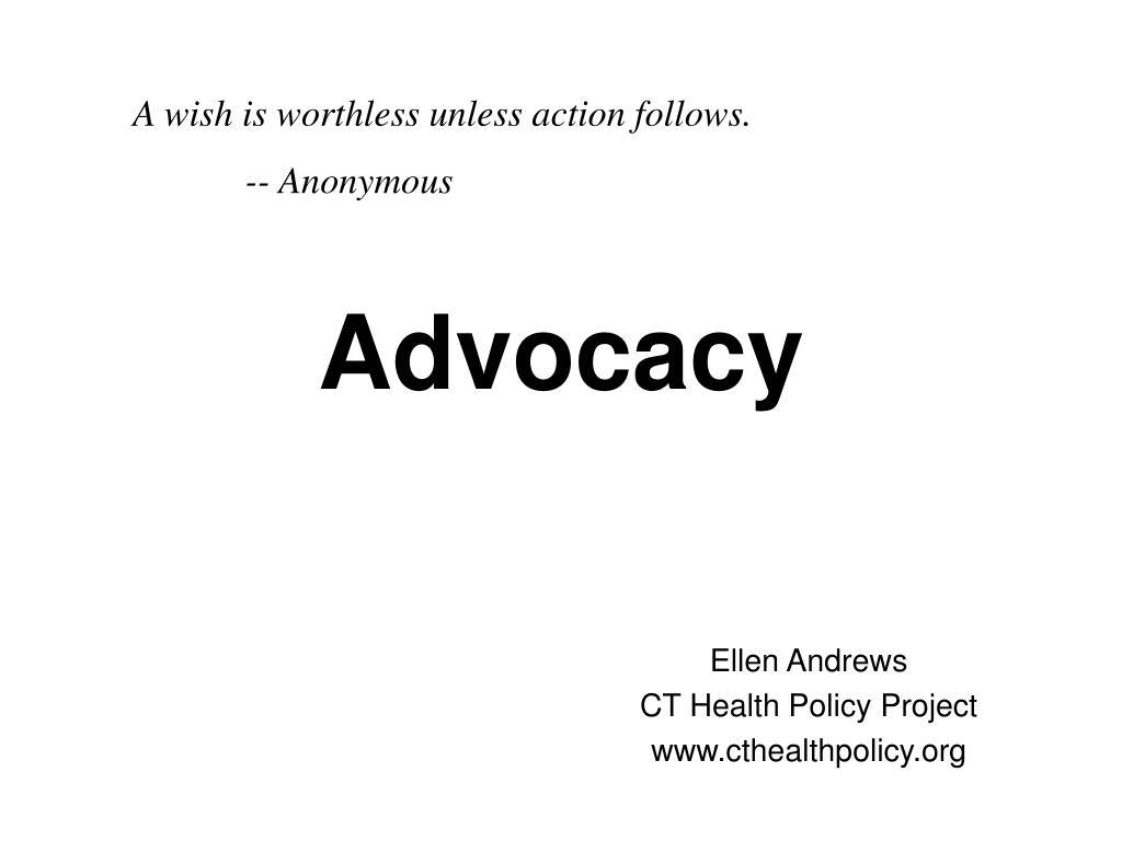 A wish is worthless unless action follows.