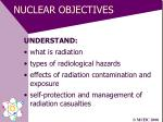 nuclear objectives