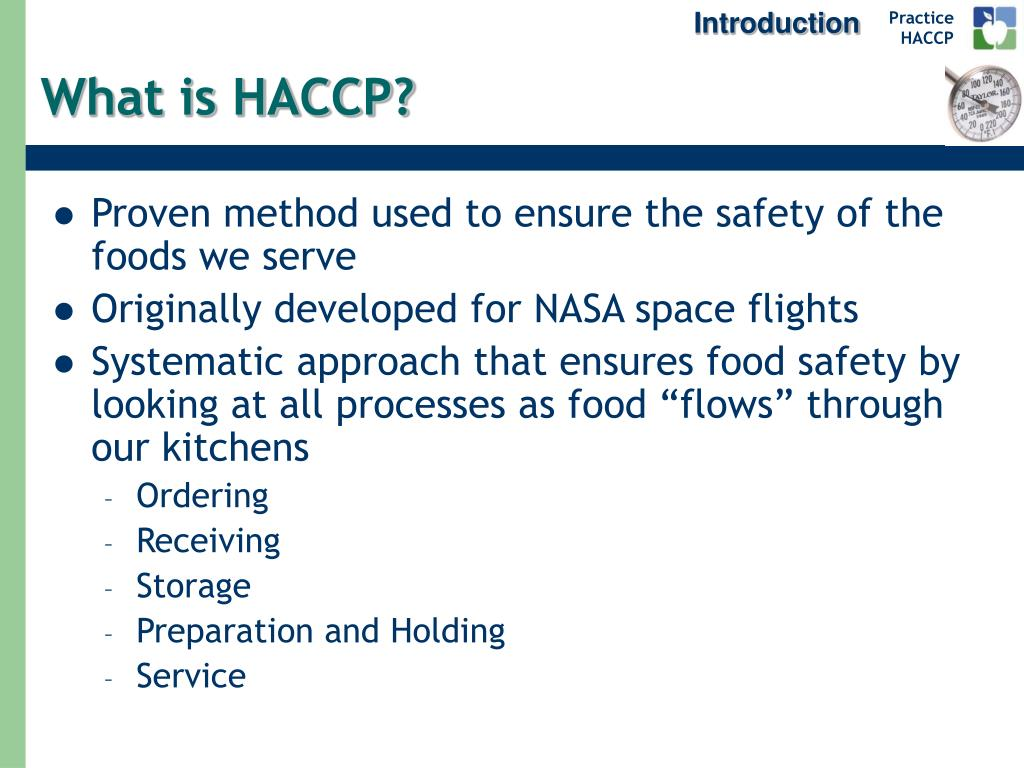 PPT - HACCP and Food Safety PowerPoint Presentation, free ...