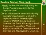 review sector plan cont13