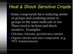 heat shock sensitive cmpds