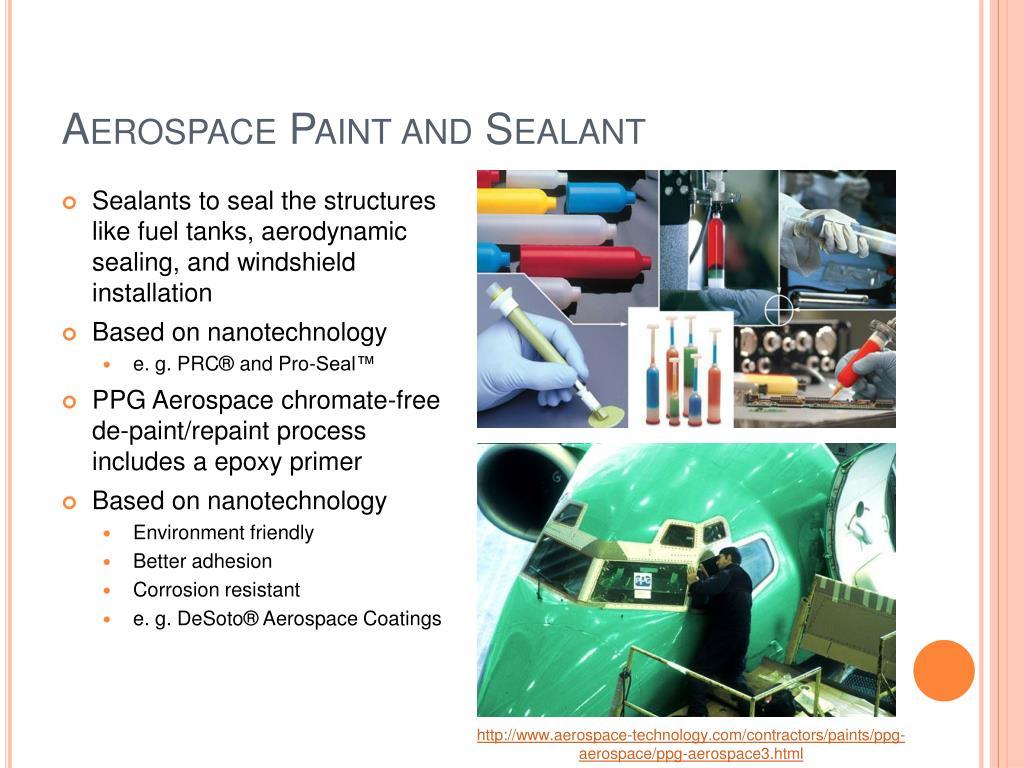 Aerospace Paint and Sealant