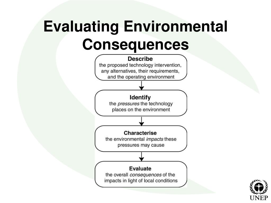 Evaluating Environmental Consequences