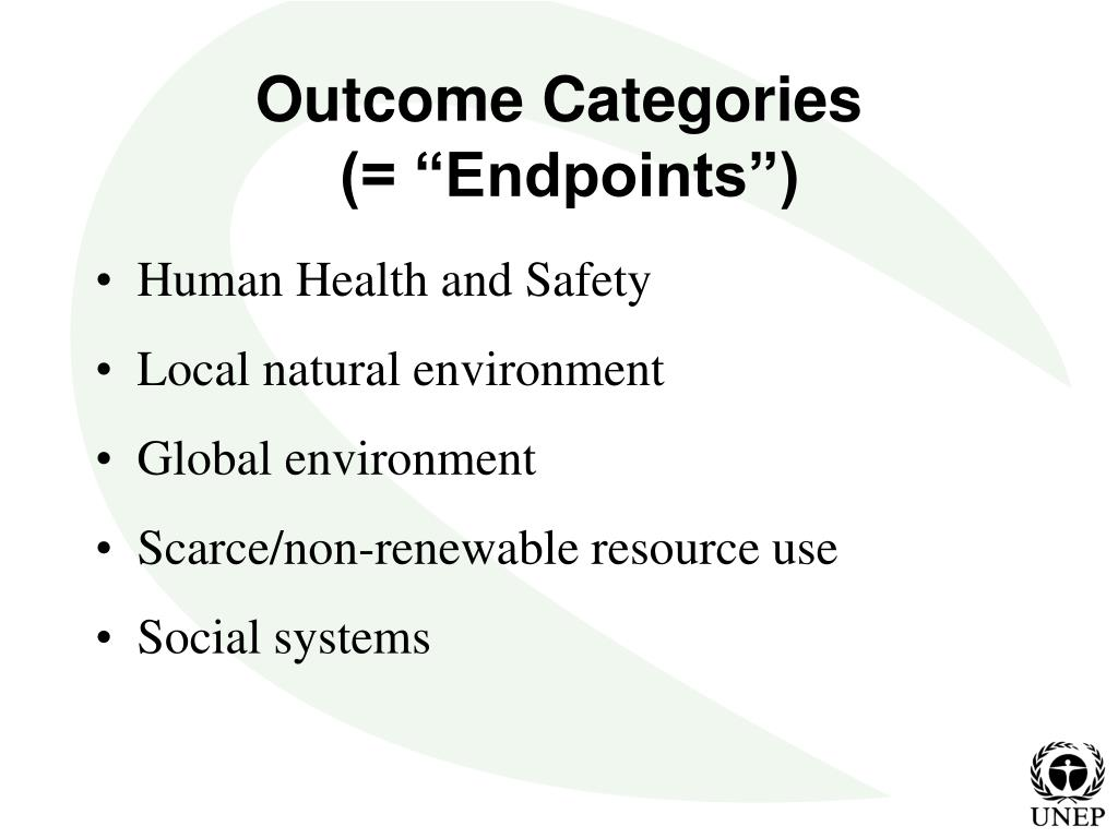 Outcome Categories