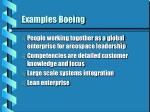 examples boeing