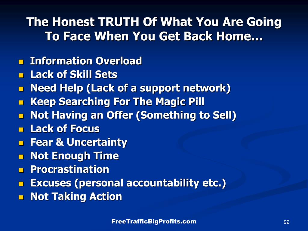 The Honest TRUTH Of What You Are Going To Face When You Get Back Home…