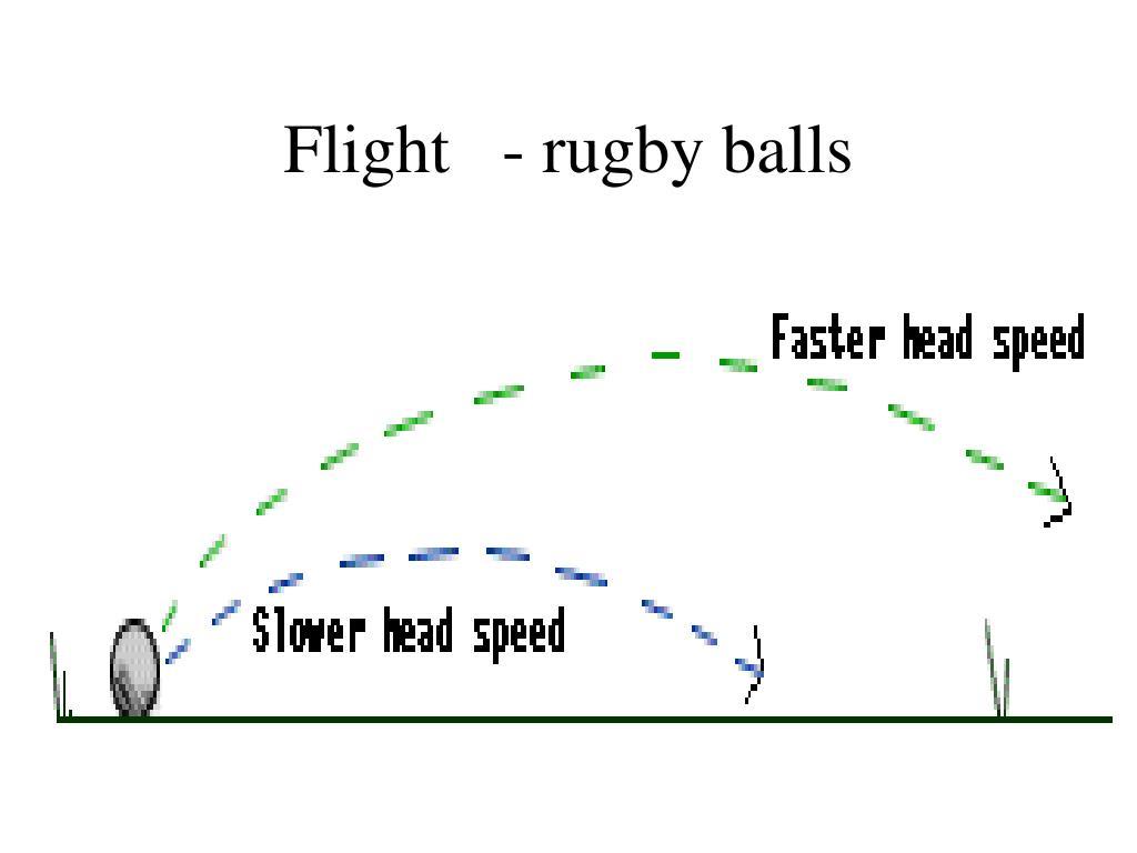 Flight   - rugby balls