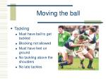 moving the ball7