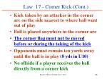 law 17 corner kick cont66