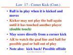 law 17 corner kick cont67