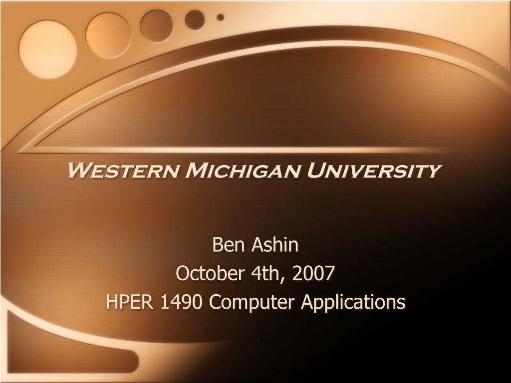 western michigan university l.
