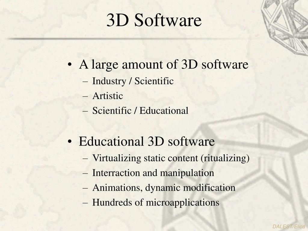 3D Software