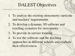dalest objectives