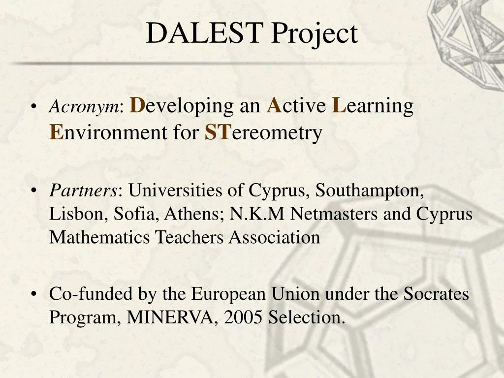 DALEST Project