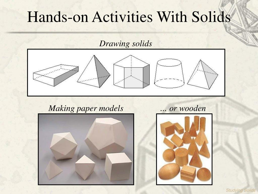 Hands-on Activities With Solids