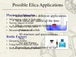 possible elica applications