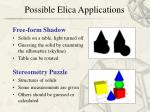 possible elica applications16
