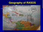 geography of rasos