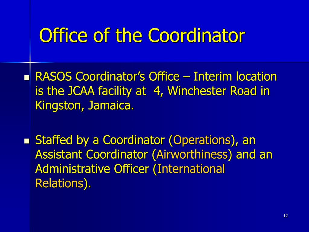 Office of the Coordinator
