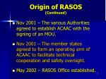 origin of rasos continued5