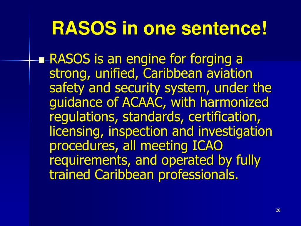 RASOS in one sentence!
