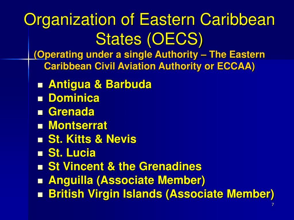 Organization of Eastern Caribbean States (OECS)