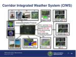 corridor integrated weather system ciws23
