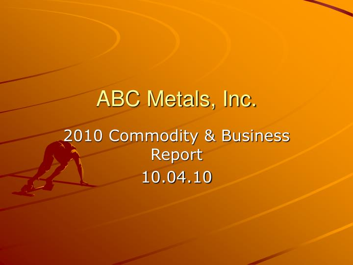 Abc metals inc