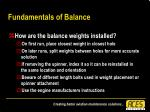 fundamentals of balance35