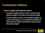 fundamentals of balance38