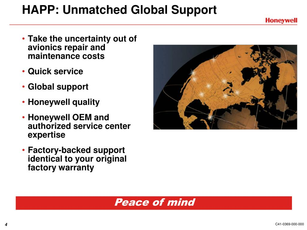 HAPP: Unmatched Global Support