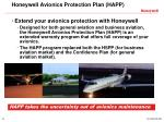 honeywell avionics protection plan happ2