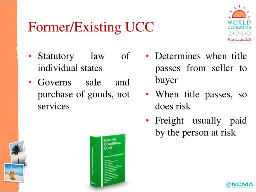 Former/Existing UCC